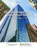50 State Prop Tax Comparison Study - 2016 Cover